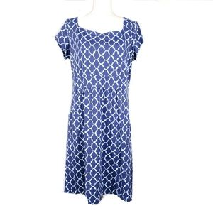 J. McLaughlin Blue Short Sleeve Dress